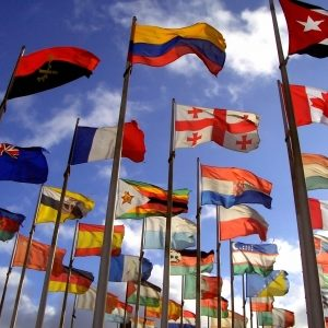 Hißflaggen ohne Ausleger