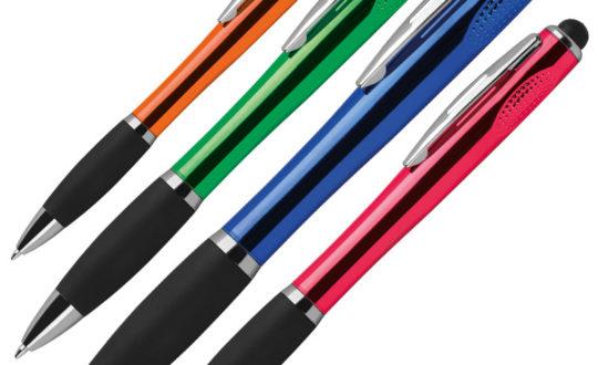 Kugelschreiber - Der Kugelschreiber ist der Klassiker unter den Werbegeschenken. Wir gravieren und bedrucken Ihnen Kugelschreiber nach Ihren Wünschen mit Schrift und Logo.
