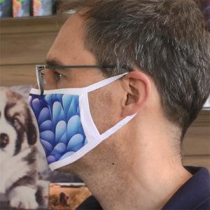 Stoffmasken Mund- Nasen- Schutzmasken bedruckt